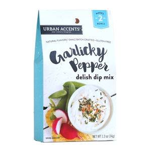 Urban Accents Garlicky Pepper Delish Dip Mix