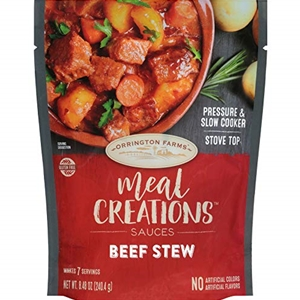 Orrington Farms Meal Creations Beef Stew Sauce