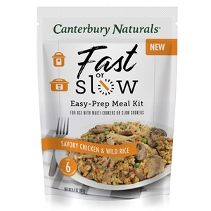 Canterbury Naturals Fast or Slow Savory Chicken & Wild Rice