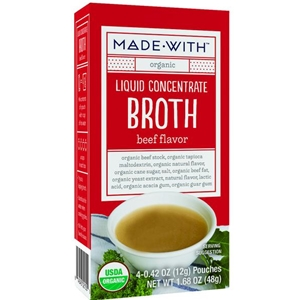 Made With Organic Beef Broth Liquid Concentrate