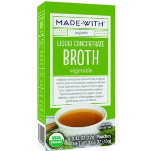 Made With Organic Vegetable Broth Liquid Concentrate