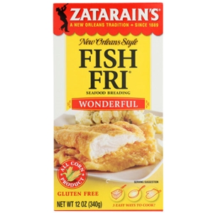 Zatarain's Wonderful Fish Fri Breading Mix - 12 oz