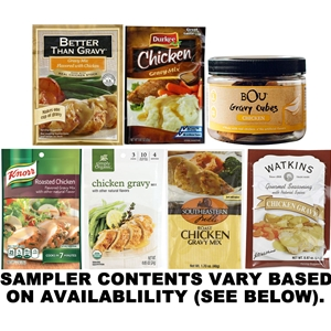 Chicken Gravy Sampler