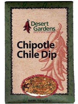 Desert Gardens Chipotle Chile Dip Mix