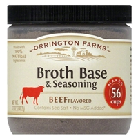 Orrington Farms Beef Flavored Soup Base 56 Servings