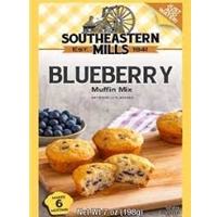 Southeastern Mills Blueberry Muffin Mix