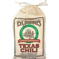 D.L. Jardine's Texas Chili Bag O' Fixins Kit