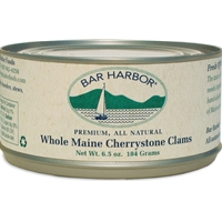 Bar Harbor Premium All Natural Whole Maine Cherrystone Clams