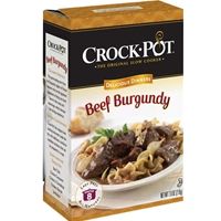 Crock-Pot Beef Burgundy