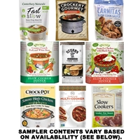 Slow Cooker Sampler