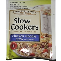Orrington Farms Slow Cookers Chicken Noodle Soup Seasoning