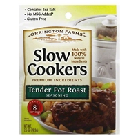 Orrington Farms Slow Cookers Tender Pot Roast Seasoning