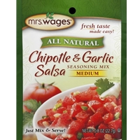 Mrs. Wages Chipotle & Garlic Salsa Seasoning Mix Medium