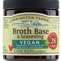 Orrington Farms Vegan Chicken Flavored Soup Base 28 Cups