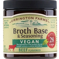 Orrington Farms Vegan Beef Flavored Soup Base 28 Cups