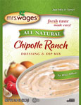 Mrs. Wages Chipotle Ranch Salad Dressing & Dip Mix