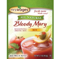 Mrs. Wages Bloody Mary Drink Mix Seasoning Hot