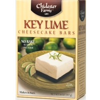 Chidester Farms Key Lime Cheesecake Bars