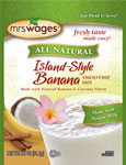 Mrs. Wages Island Style Banana Smoothie Mix