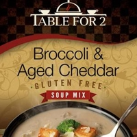 Table For 2 Broccoli & Aged Cheddar Soup