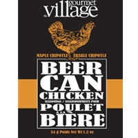 Gourmet du Village Maple Chipotle Beer Can Chicken Seasoning