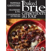 Gourmet du Village Cranberry & Fig Baked Brie Topping