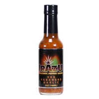 Irazu Volcanic Pepper Habanero Garlic XXX Crushed Pepper Sauce
