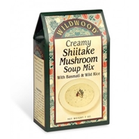 Wildwood Creamy Shiitake Mushroom Soup Mix with Basmati & Wild Rice
