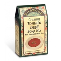 Wildwood Creamy Tomato Basil Soup Mix with Basmati & Wild Rice