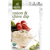 Simply Organic Onion and Chives Dip