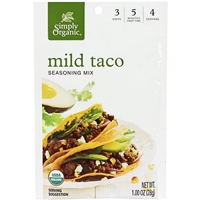 Simply Organic Mild Taco Seasoning