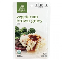 Simply Organic Vegetarian Brown Gravy