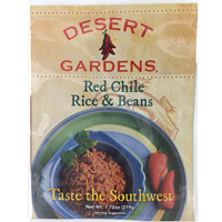 Desert Gardens Red Chile Rice and Beans
