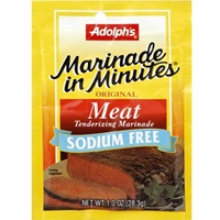 Adolphs Marinade in Minutes Original Meat Tenderizing Marinade Sodium Free