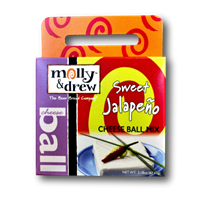 Molly & Drew Sweet Jalapeno Cheese Ball Mix