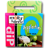 Molly & Drew Appletini Dip Mix