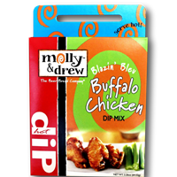 Molly & Drew Blazin Bleu Buffalo Chicken Hot Dip Mix