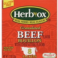 Herb-Ox Sodium Free Granulated Beef Bouillon Packets