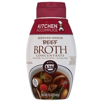 Kitchen Accomplice Reduced Sodium Beef Broth