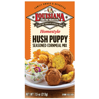 Louisiana Fish Fry Homestyle Hush Puppy Seasoned Cornmeal Mix
