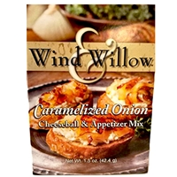 Wind & Willow Caramelized Onion Cheeseball & Appetizer Mix