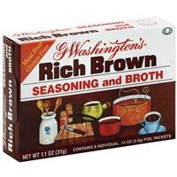 George Washington Rich Brown Seasoning & Broth