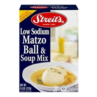 Streits Matzo Ball & Soup Mix -Low Sodium