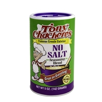 Tony Chachere's Famous Creole Cuisine No Salt Seasoning Blend, 5oz.