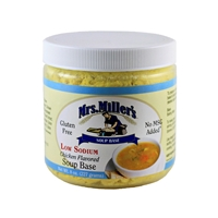 Mrs. Miller's Low Sodium Chicken flavored Soup Base -8oz.