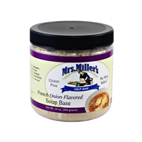 Mrs. Miller's French Onion Flavored Soup Base 10oz.