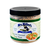 Mrs. Miller's Vegetable Flavored Soup Base 10oz.