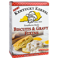 Kentucky Kernel Southern Style Biscuits & Gravy Fixins
