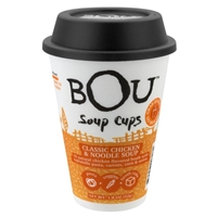 Bou Soup Cups Classic Chicken & Noodle Soup