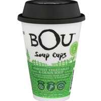 Bou Soup Cups  Harvest Vegetables & Grain Soup